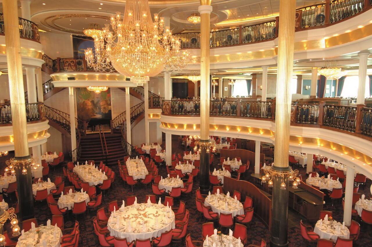 Круизный лайнер Freedom of the Seas - Основной ресторан (Main Dining Room)