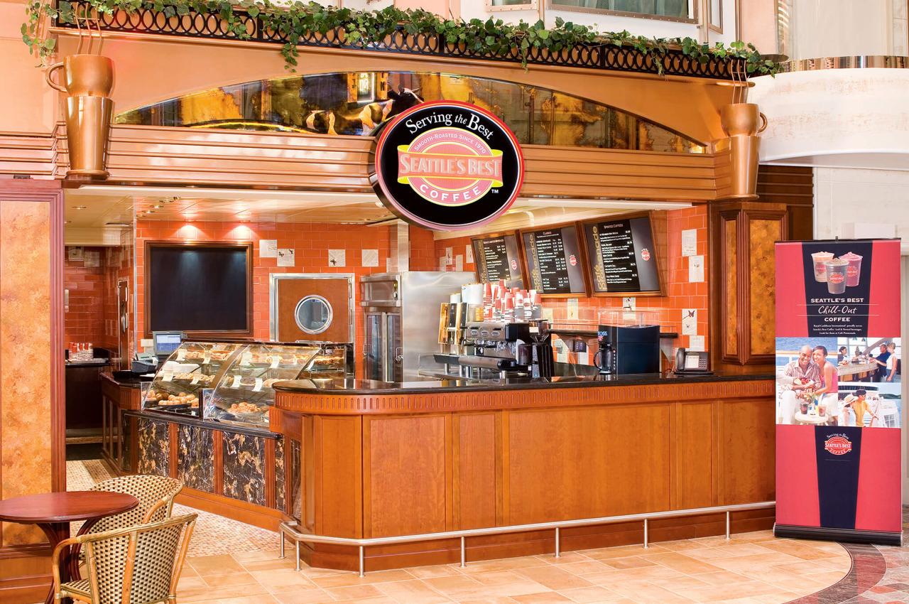 Круизный лайнер Freedom of the Seas - Десерт-кафе (Coffee Shop)