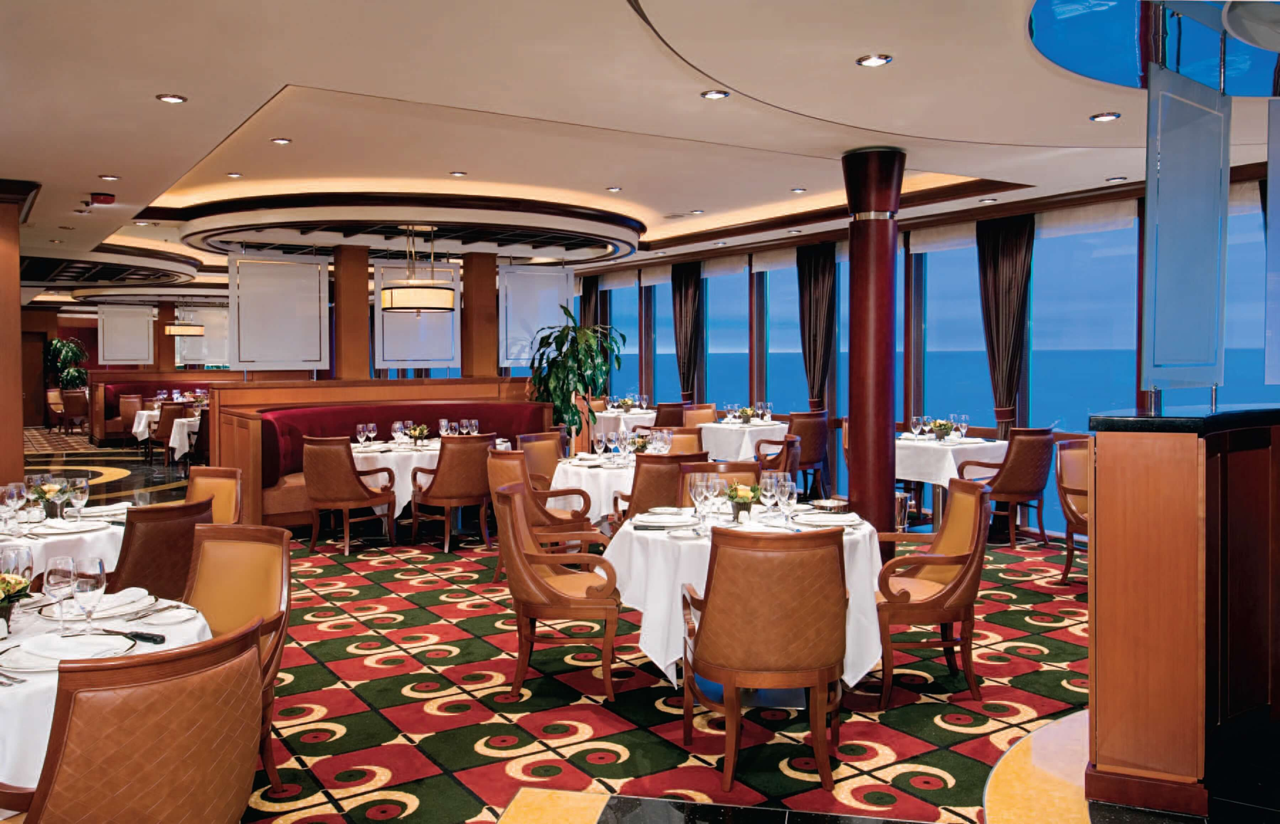 Круизный лайнер Grandeur of the Seas - Стейк-хаус Chops Grille (Chops Grille)