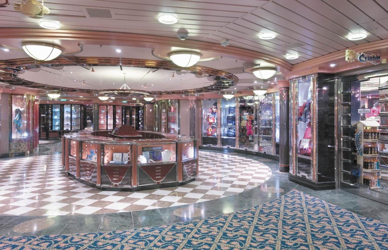 Круизный лайнер Grandeur of the Seas - Галерея бутиков (Boutiques)