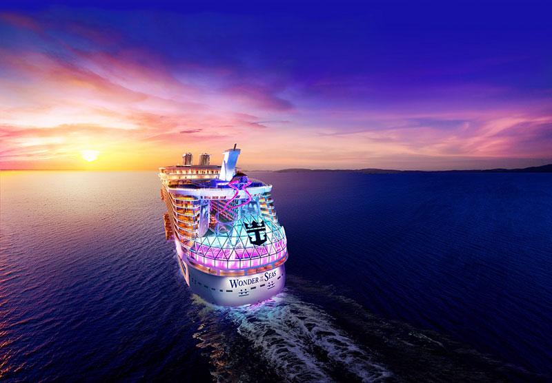 Круизный лайнер Wonder of the Seas
