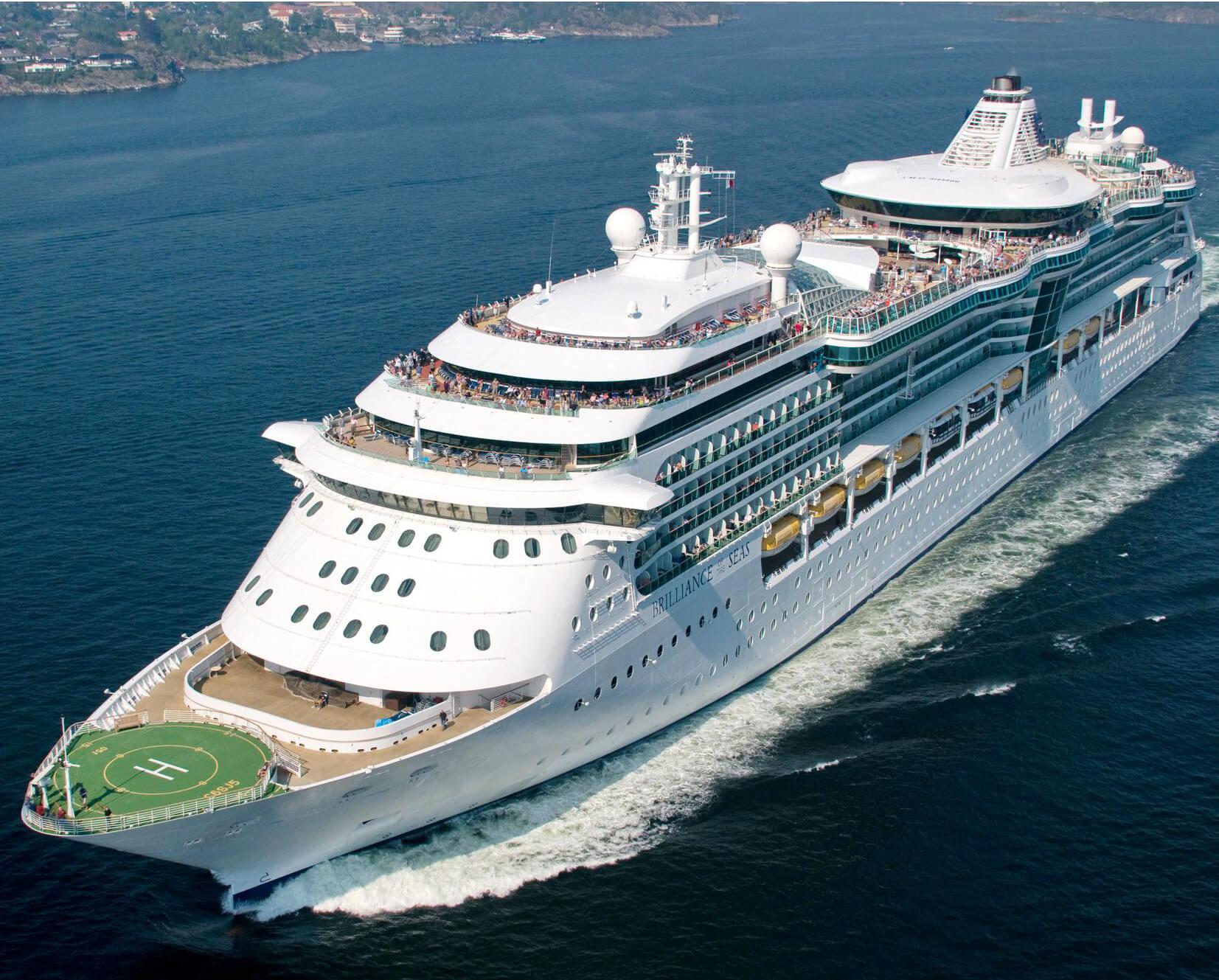 Круизный лайнер Brilliance of the Seas
