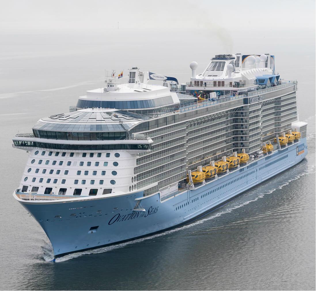 Круизный лайнер Ovation of the Seas