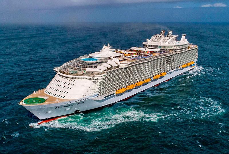 Круизный лайнер Symphony of the Seas