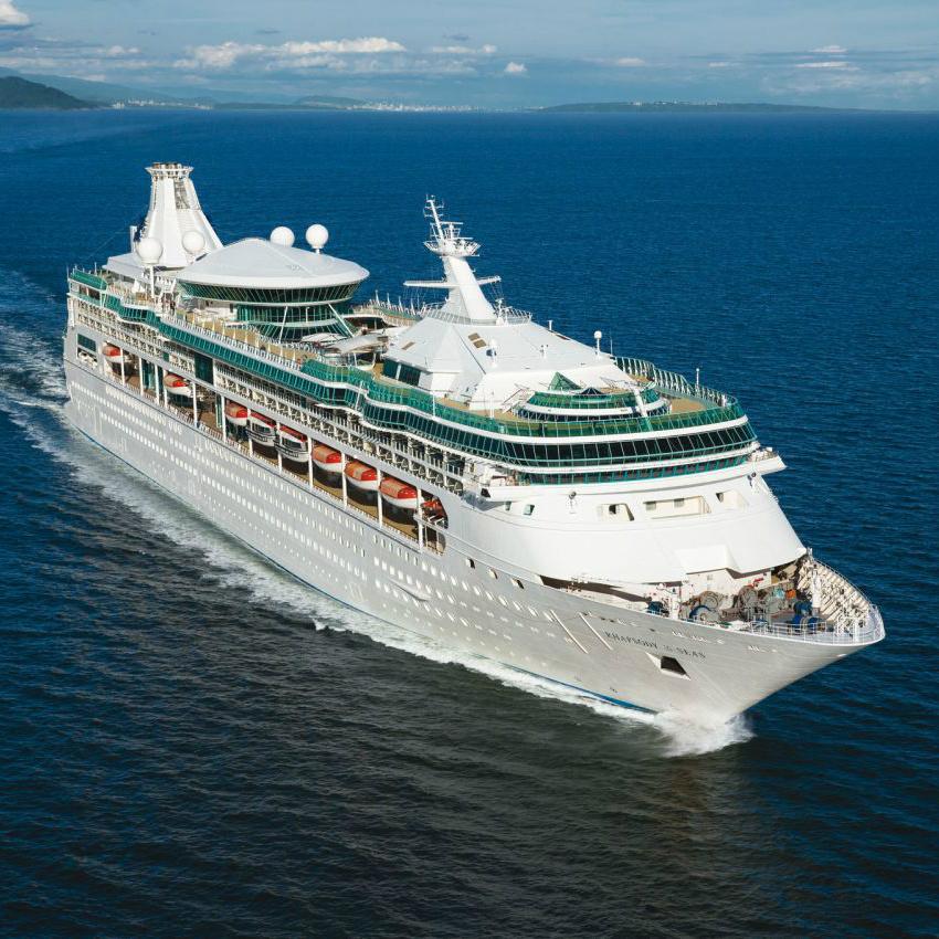 Круизный лайнер Rhapsody of the Seas