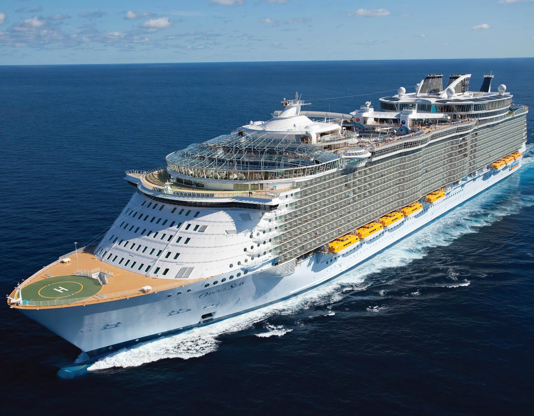 Круизный лайнер Oasis of the Seas