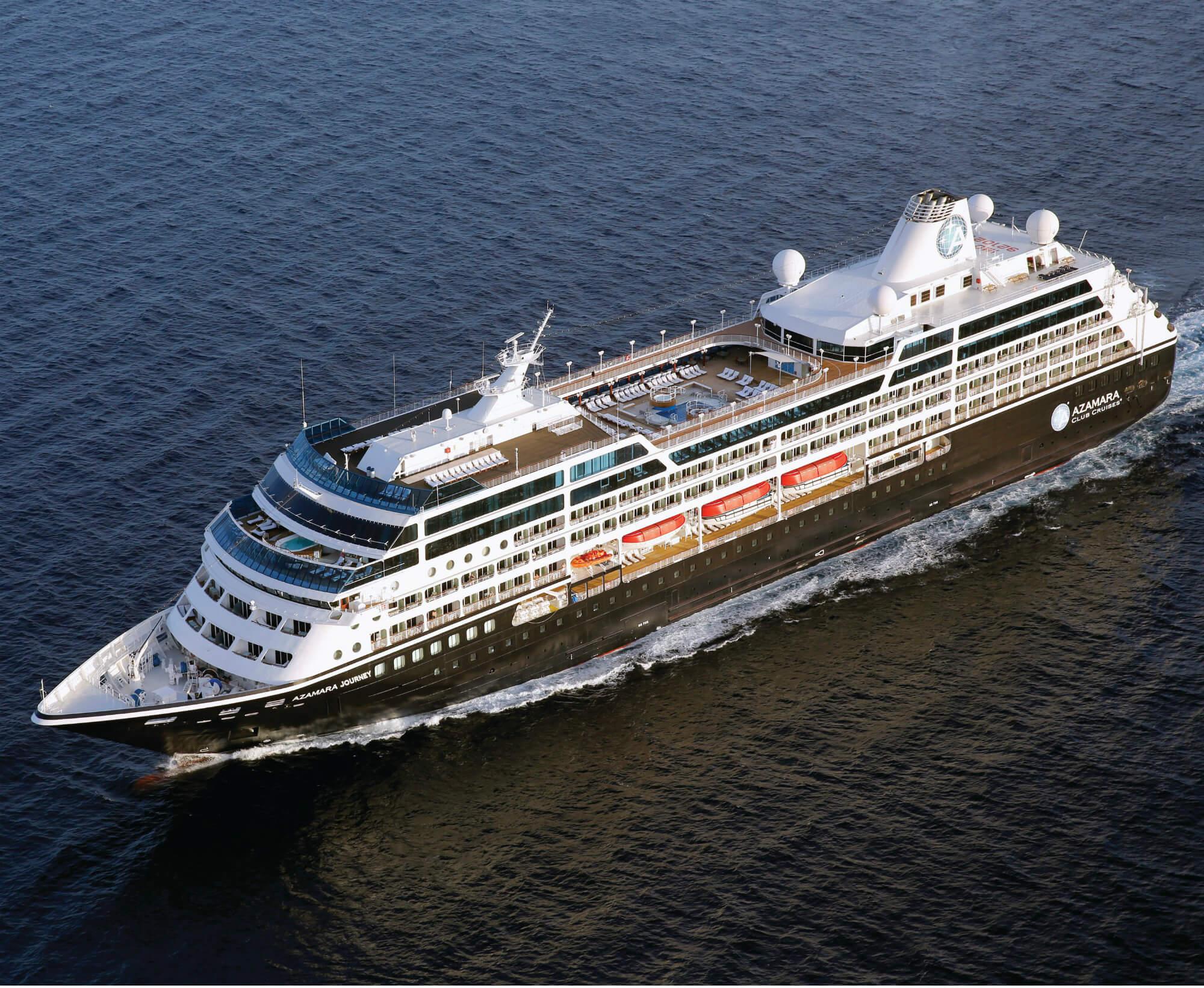 Круизный лайнер Azamara Journey
