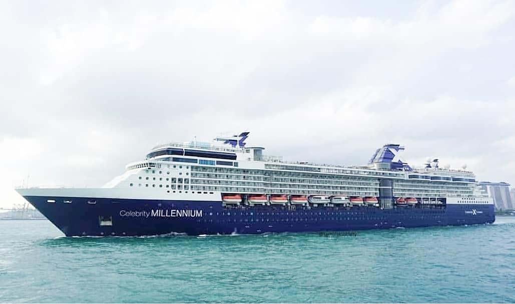 Круизный лайнер Celebrity Millennium