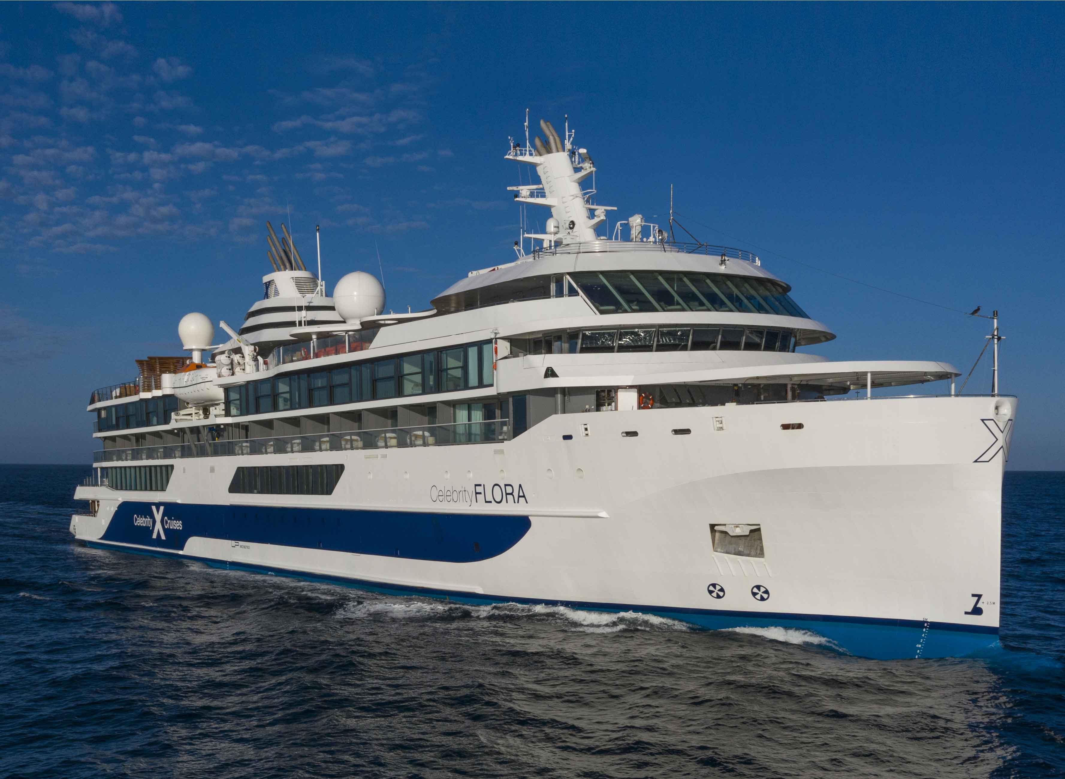 Круизный лайнер Celebrity Flora