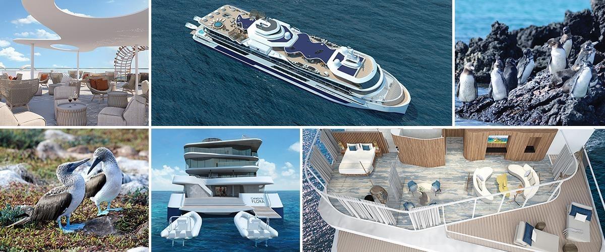 Celebrity Cruises представляет новый лайнер – Celebrity Flora!