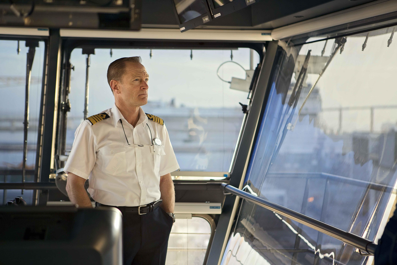 Встречайте капитана самого большого лайнера в мире
