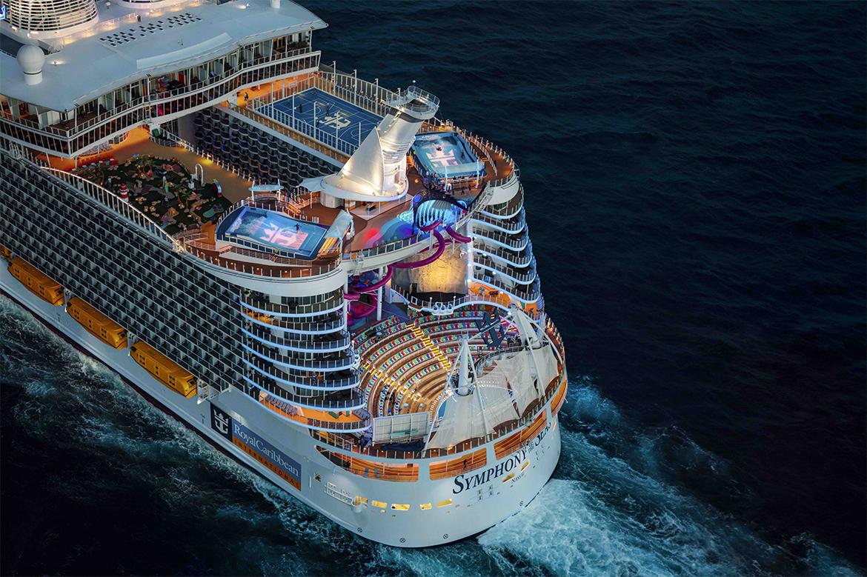 Symphony of the Seas: Центр развлечений посреди открытого моря