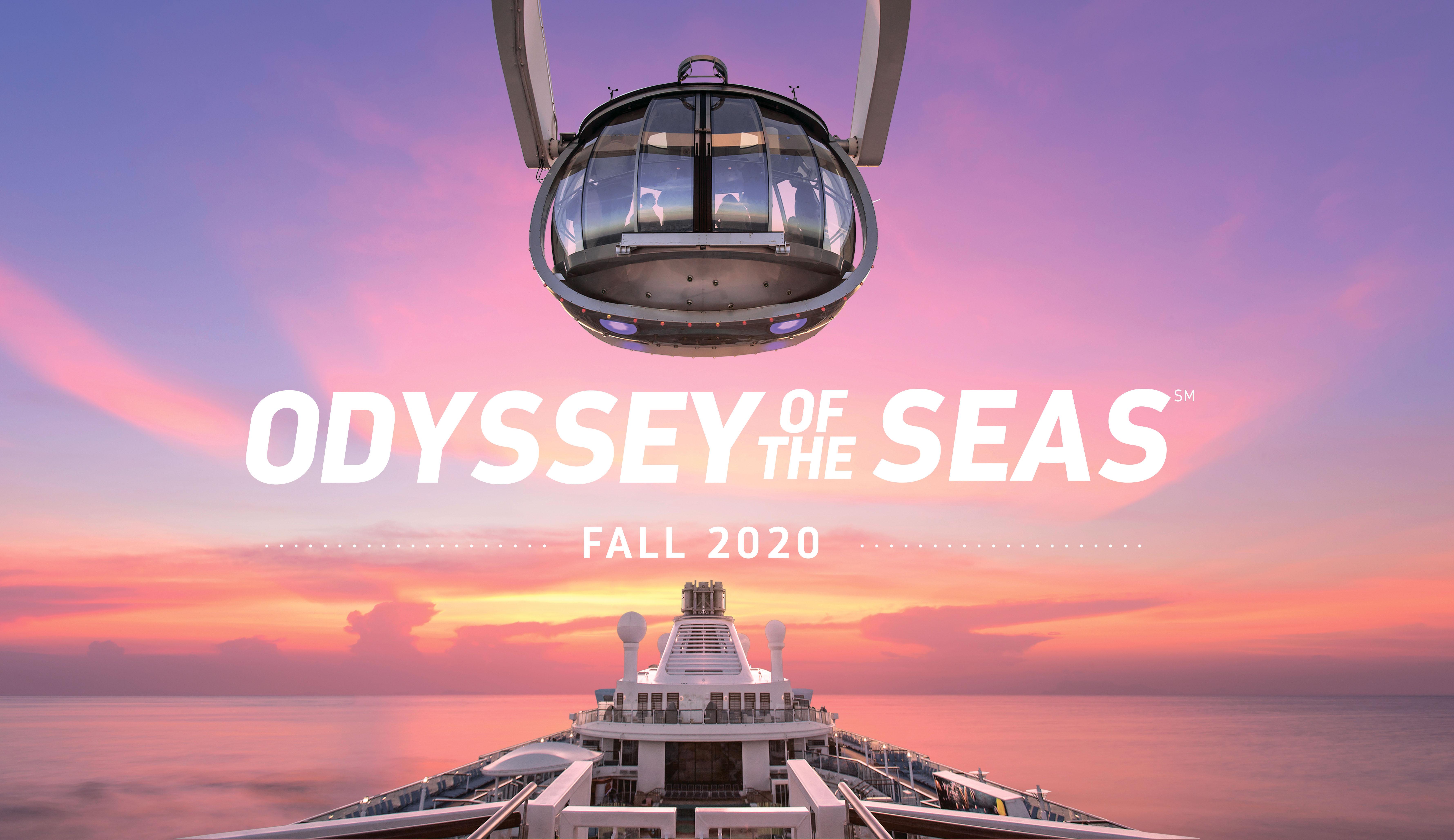Инновационный лайнер Odyssey of the Seas