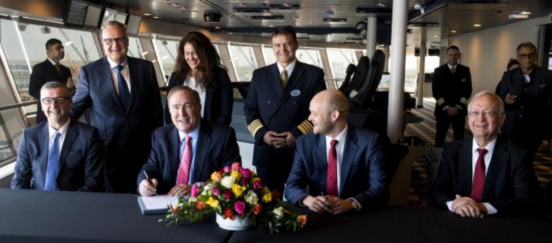 Spectrum of the Seas официально принят во флот RCI