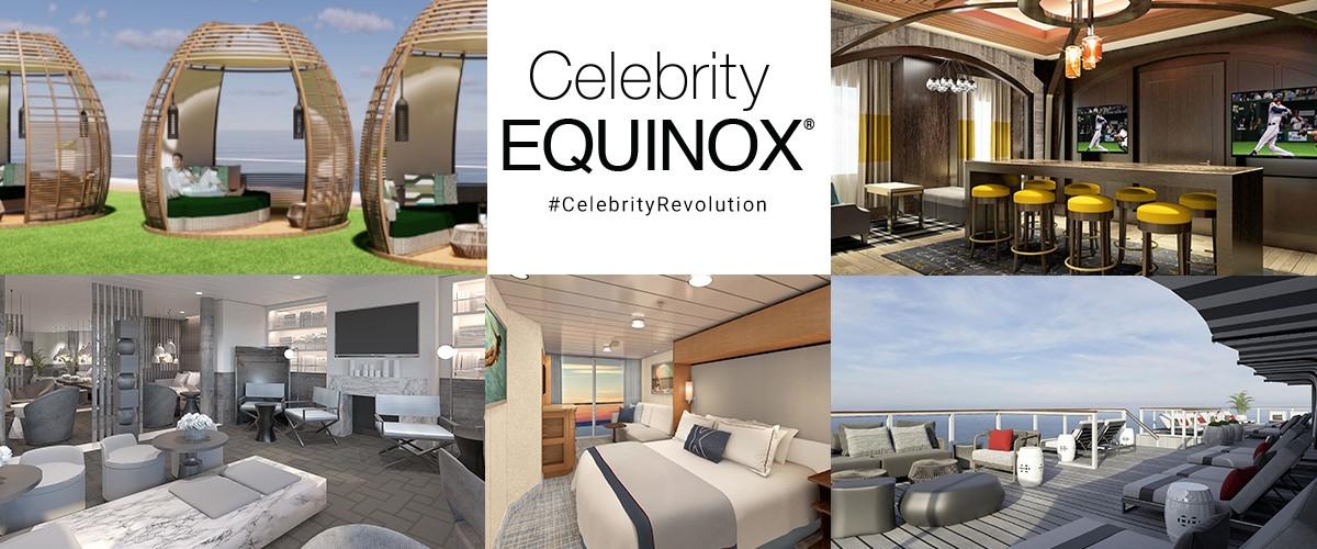 Обновленный лайнер Celebrity Equinox