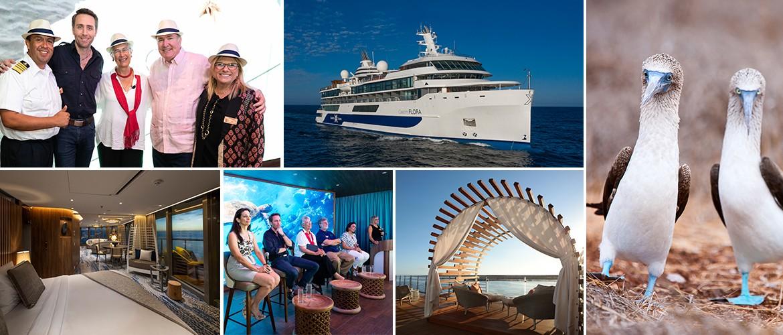 Приветствуем мега-яхту Celebrity Flora во флоте!