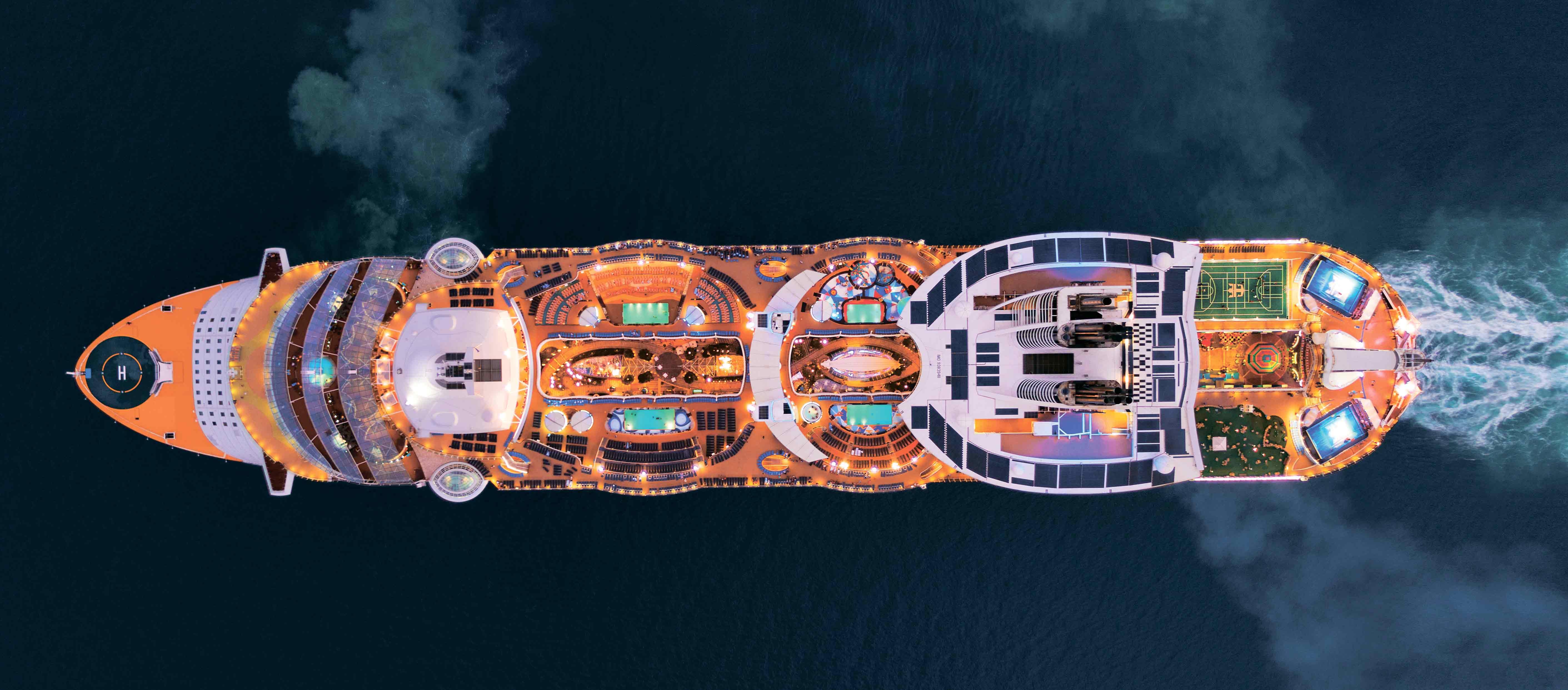 Гость Европы 2020 года – обновленный лайнер Allure of the Seas