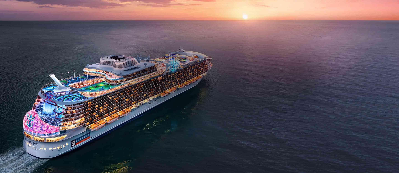 Новый чудо-лайнер компании Royal Caribbean