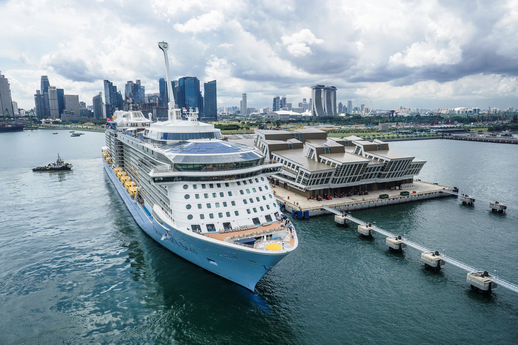 ВОЗОБНОВЛЕНИЕ КРУИЗОВ ИЗ СИНГАПУРА НА QUANTUM OF THE SEAS