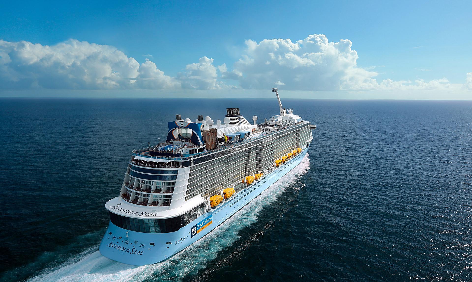 Anthem of the Seas отправится из Великобритании летом 2021 года