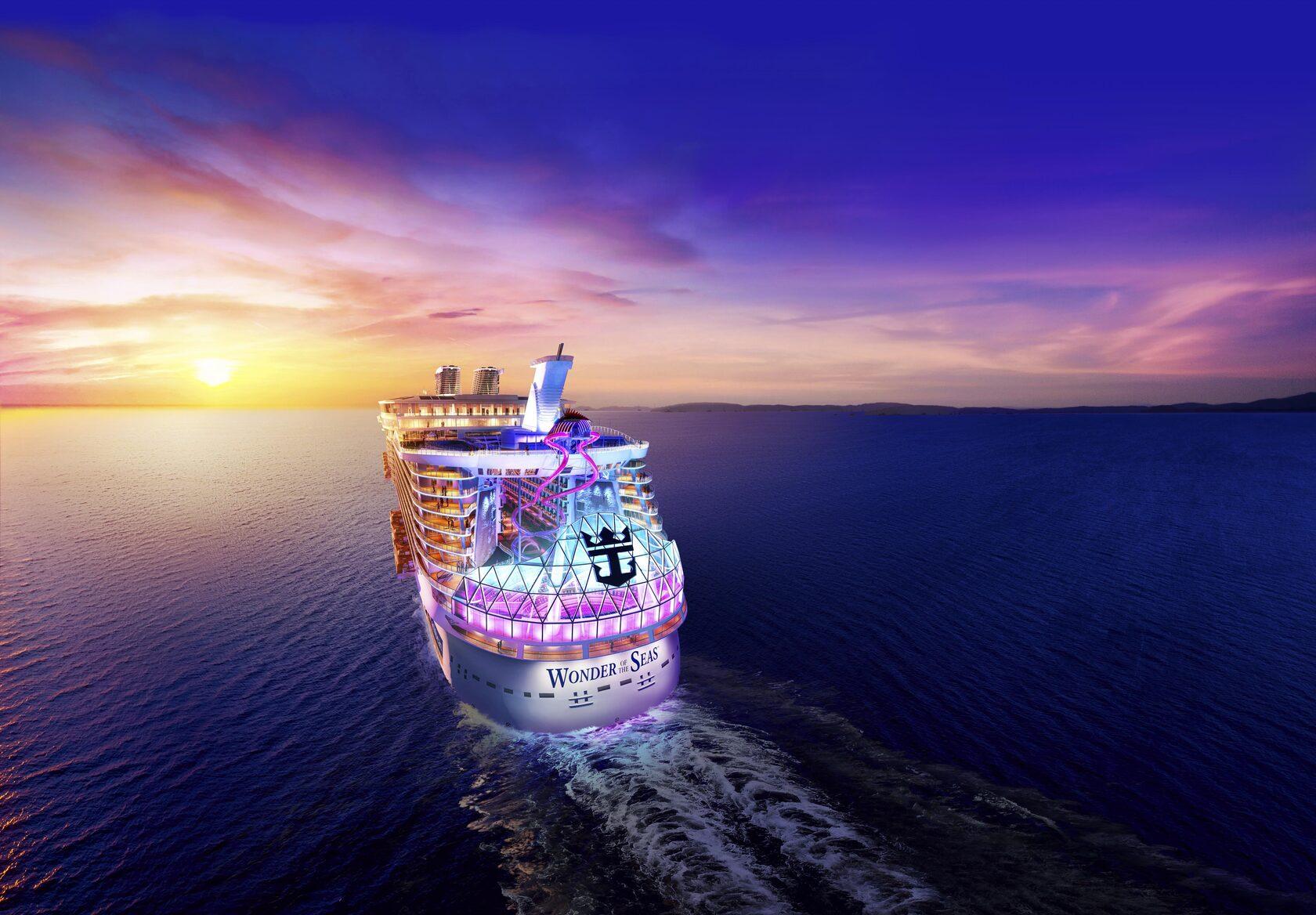 Чудо море! Встречайте Wonder of the Seas!