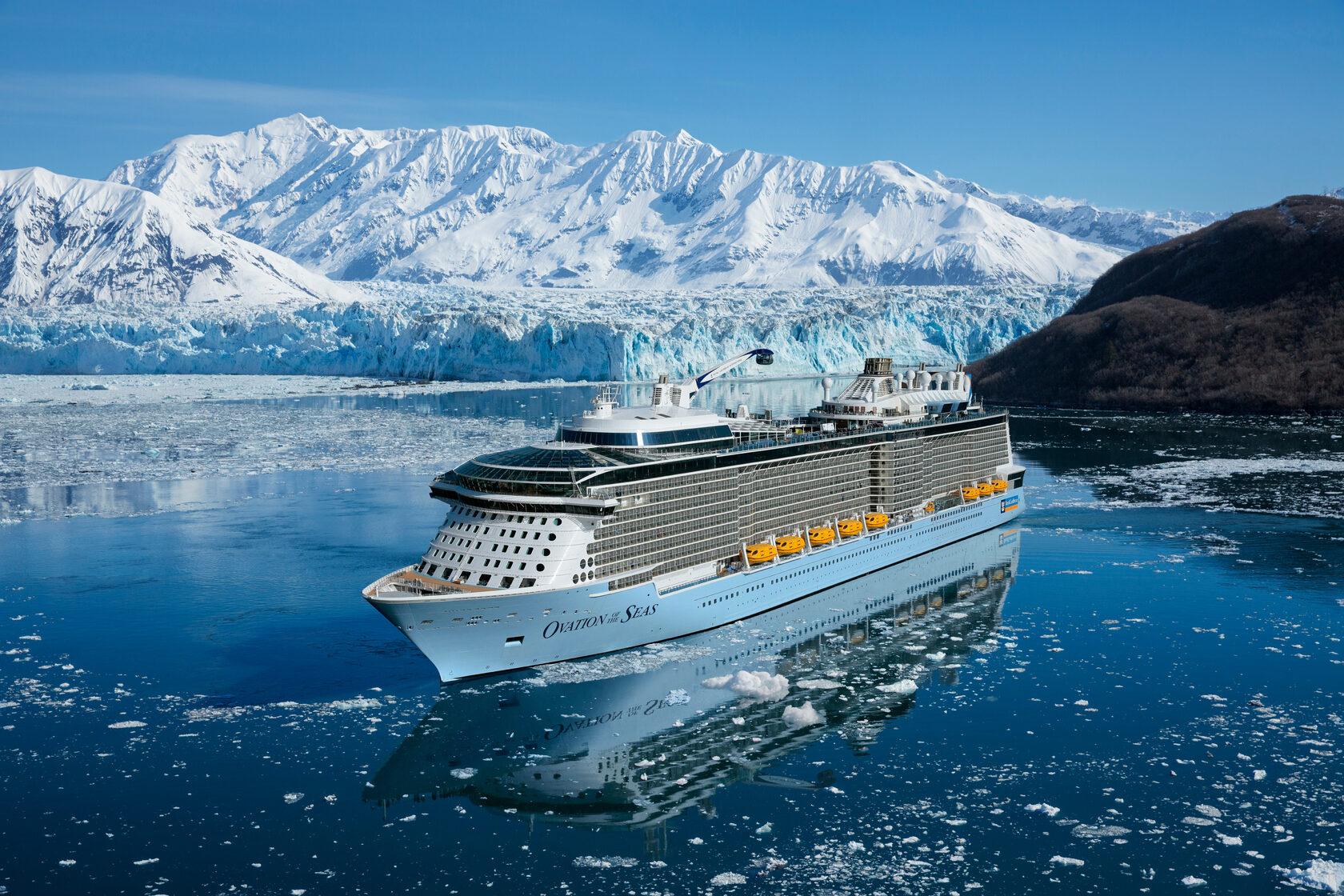Royal Caribbean возобновляет круизы на Аляску