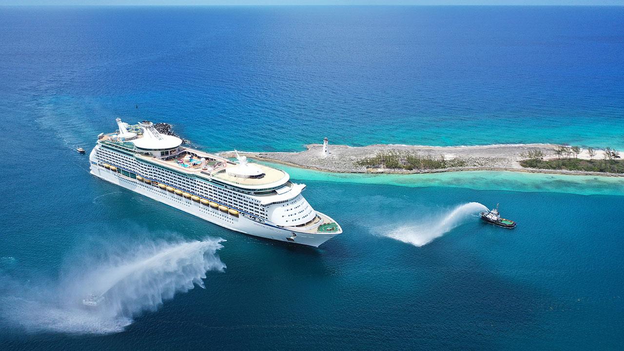 12 июня Adventure of the Seas отправился в круиз с Багамских островов