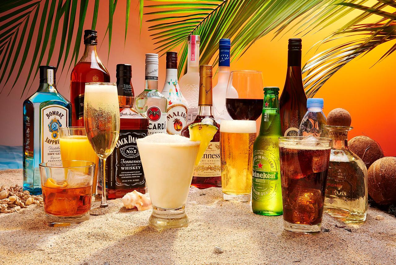 Deluxe Beverage Package - пакеты напитков на круизных лайнерах Royal Caribbean International