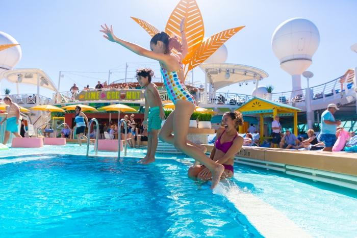 Развлечения для детей на лайнерах круизной компании Royal Caribbean International