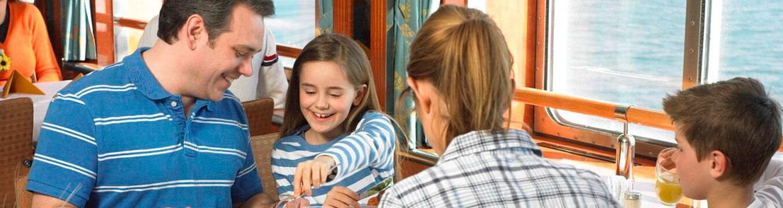 Питание для детей на борту круизного лайнера Royal Caribbean International