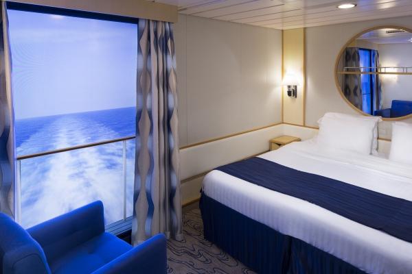 Внутренние каюты без окон на лайнерах Royal Caribbean International