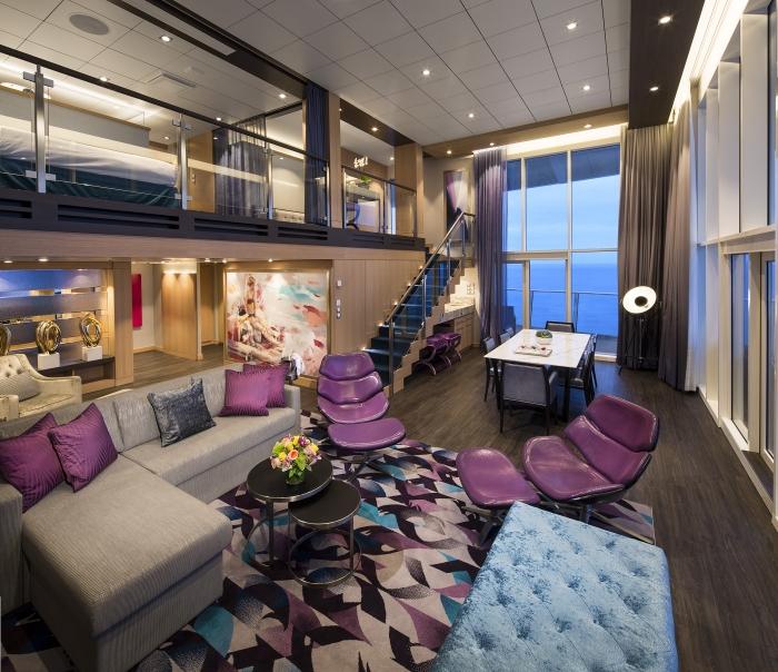 Сьюты на лайнерах Royal Caribbean International